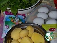 Зеленый борщ Белый ингредиенты