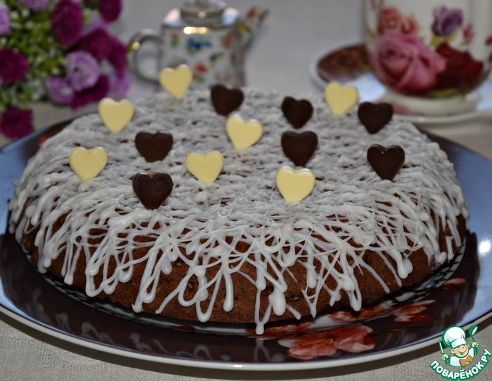 Рецепт: Ореховый пирог Соблазн