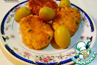 Рецепт: Котлеты рыбно-сырные