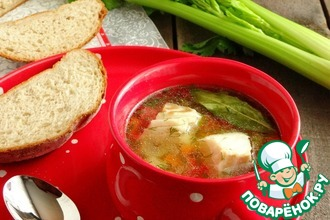Рецепт: Овощной суп с треской