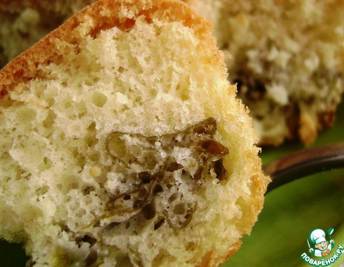 Рецепт: Бисквит со щавелем