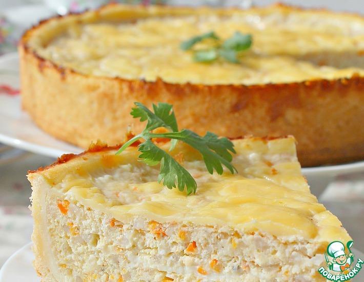 Рецепт: Рыбный пирог Дежурный
