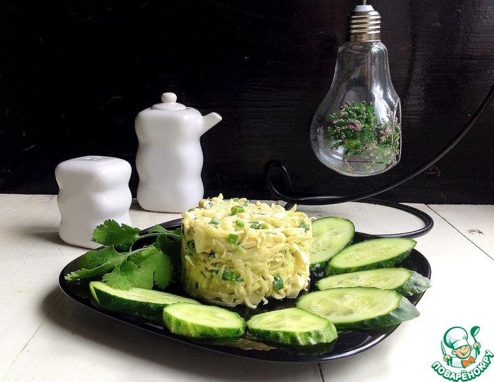 Рецепт: Салат с зеленой редькой Осенний