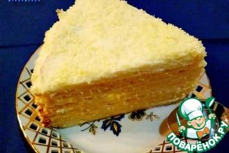 Рецепт: Торт Творожник