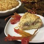 Миндально-сливовый пирог со штрейзелем
