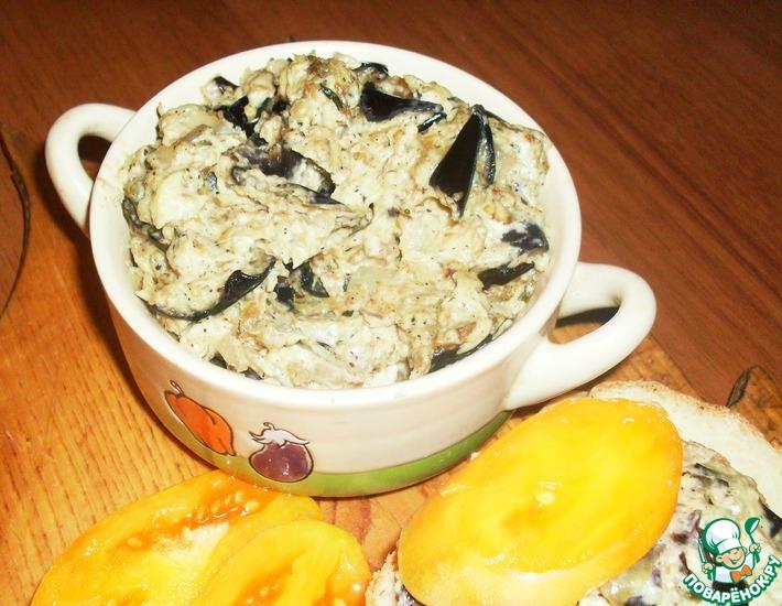 Рецепт: Закуска из баклажанов с плавленым сыром
