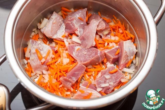 рецепт приготовить борщ в кастрюли бергофф