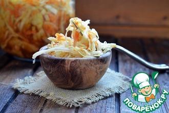 Рецепт: Маринованная капуста с соевым соусом