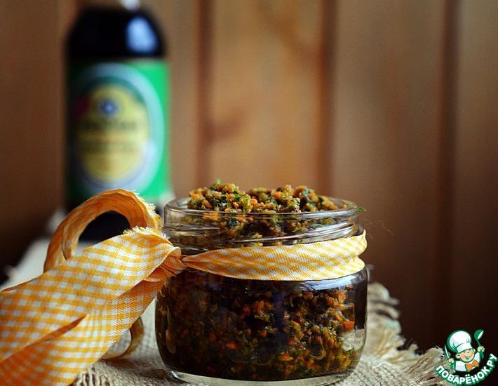 Рецепт: Заготовка овощная для бульона