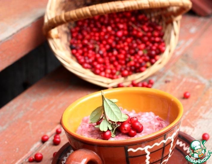 Рецепт: Перловая каша В лесу родились ягодки