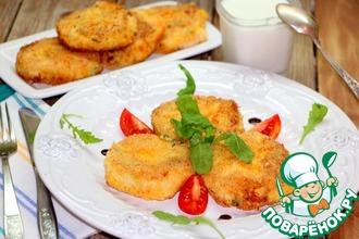 Рецепт: Картофельные биточки с сыром и зеленью
