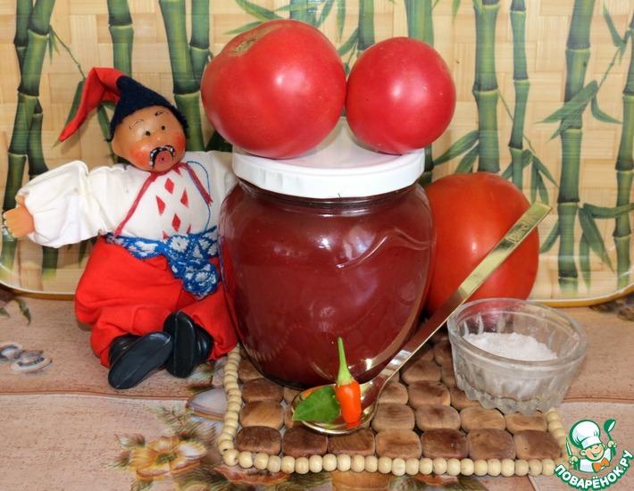 Домашний кетчуп рецепт поваренок