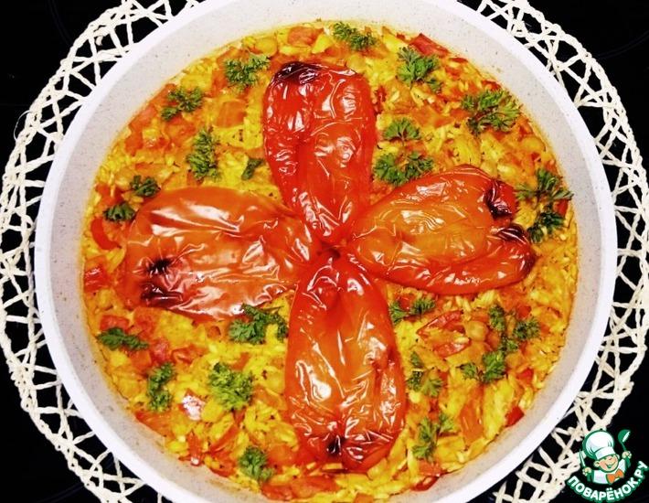 Рецепт: Рис с накидками тореадора