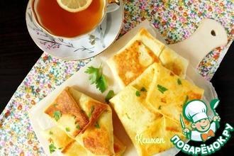 Рецепт: Замороженная кесадилья для завтрака