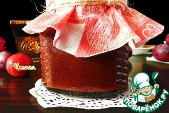 Рецепт: Сливовый джем-десерт