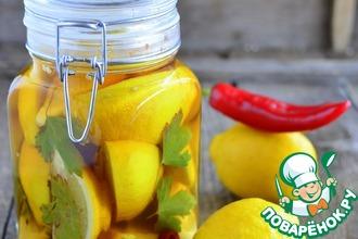 Рецепт: Маринованные лимоны с чили