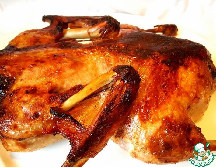 Рецепт: Праздничная утка за 90 минут