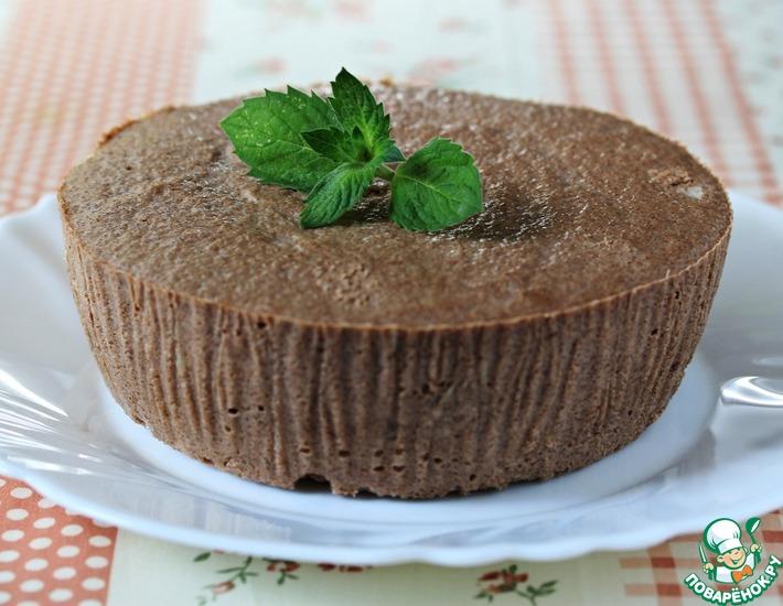 Рецепт: Творожная запеканка с какао