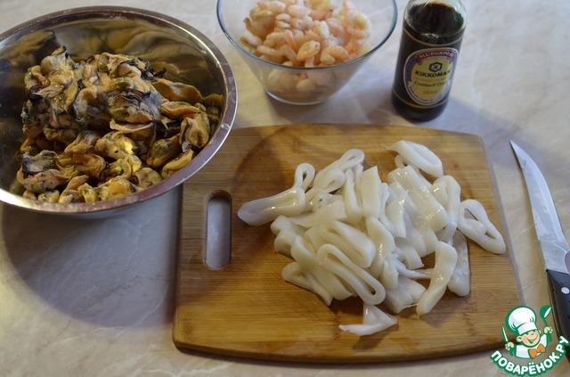 морской коктейль в маринаде рецепты