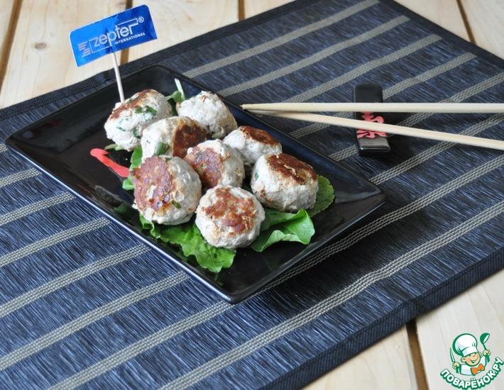 Рецепт: Пряные корейские мясные шарики
