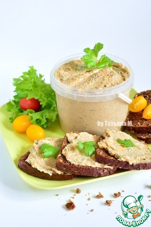 Herring-cheese pate