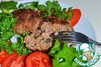Рецепт: Котлеты тыквенно-мясные