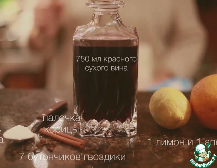 Рецепт: Настоящий классический глинтвейн