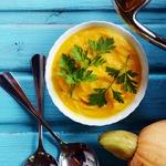 Суп-пюре из тыквы с кокосовым молоком