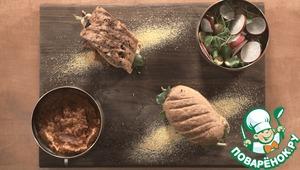 Рецепт: Бургеры со скумбрией и соусом сальса