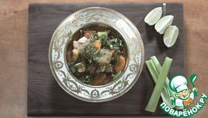 Рецепт: Куриный суп-лапша