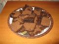 Шоколадный обсыпной пирог