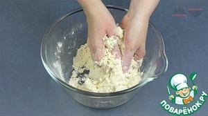 Творожный пирог с песочной крошкой фото