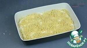 Творожный пирог с песочной крошкой Тесто