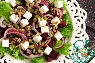 Рецепт: Салат из свеклы и феты