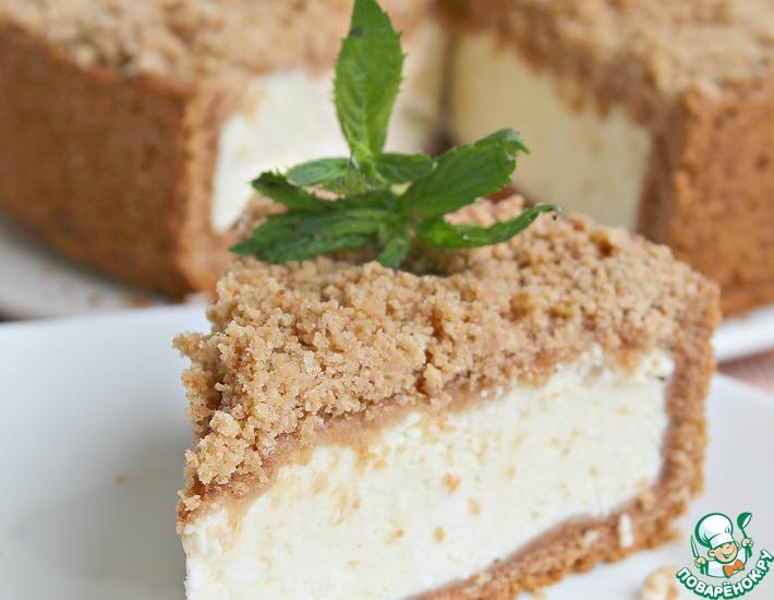 Рецепт: Петербургский творожный пирог с хрустящей корочкой