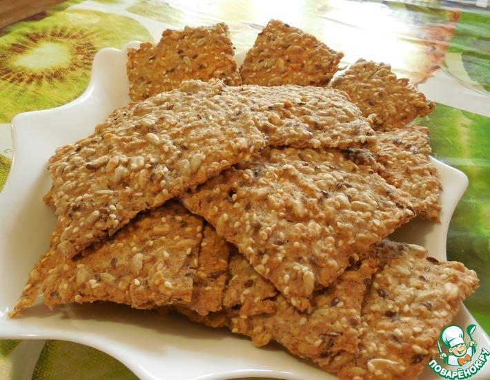 Рецепт: Печенье Зерновое из цельнозерновой муки