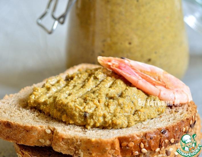 Рецепт: Диетический паштет из морепродуктов