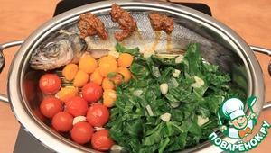 Рецепт: Сибас с овощами
