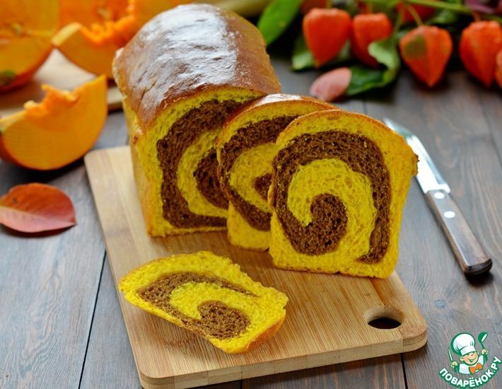 Рецепт: Тыквенно-шоколадный хлеб
