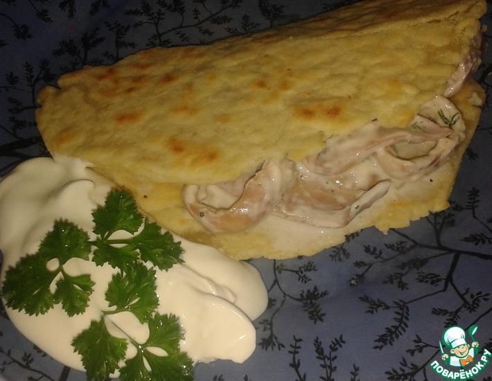 Рецепт: Тортилья Нептун