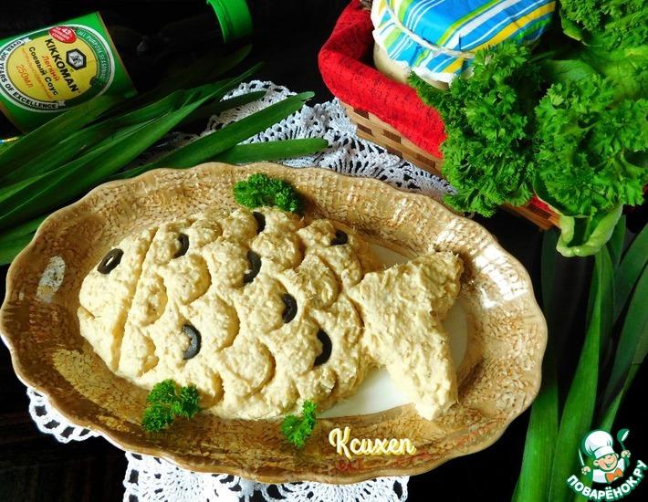 Рецепт: Паштет Рыбный сыр