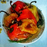 Перец на сухой сковородке