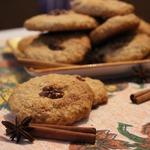 Орехово-овсяное печенье с черным перцем