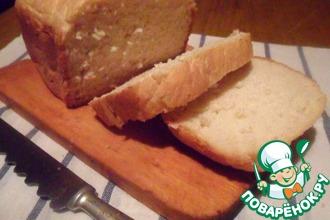 Рецепт: Белый хлеб в хлебопечке