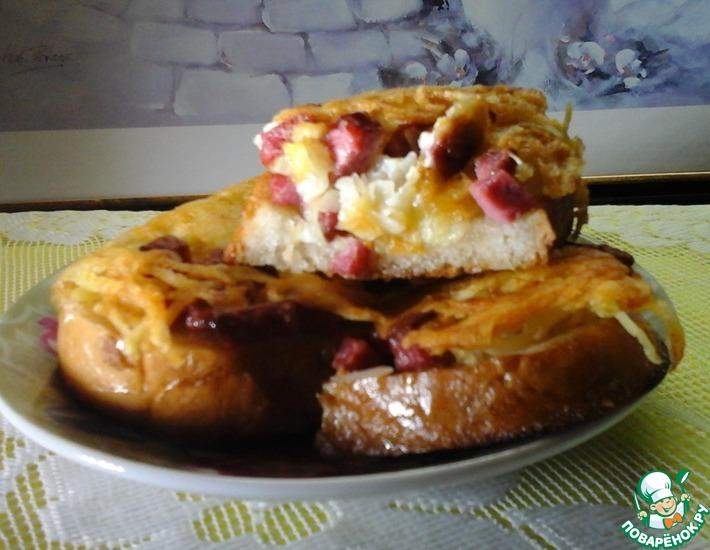 Рецепт: Бутерброды Любимые