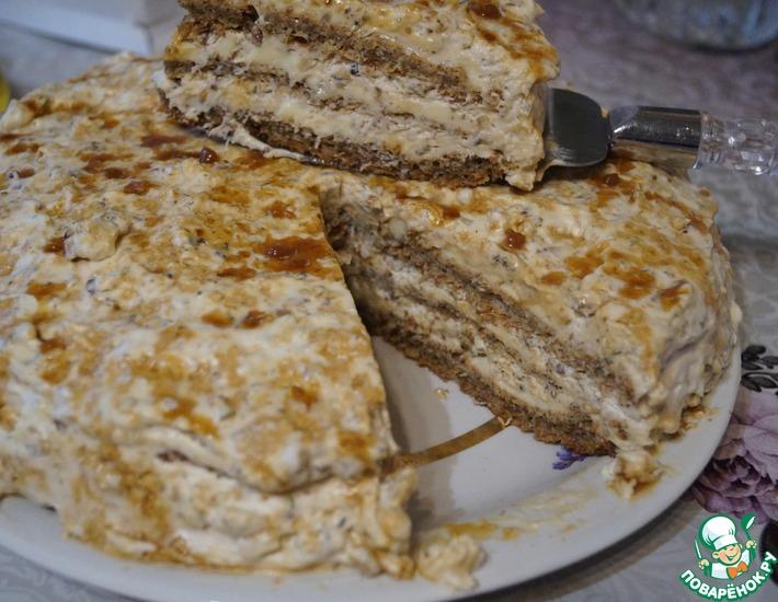 Рецепт: Египетский торт