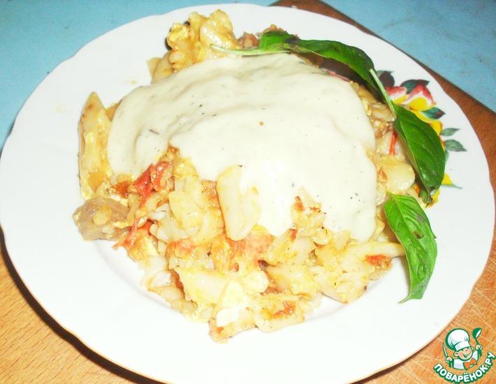 Рецепт: Сырный соус к макаронам