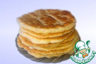 Рецепт: Казахские лепешки