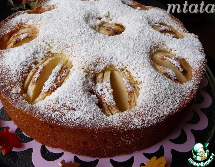 Рецепт: Простой яблочный пирог