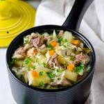 Суп с капустой и мясом